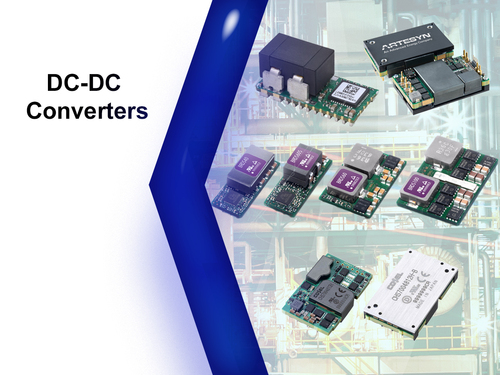DC/DC converters digital (medium-large)